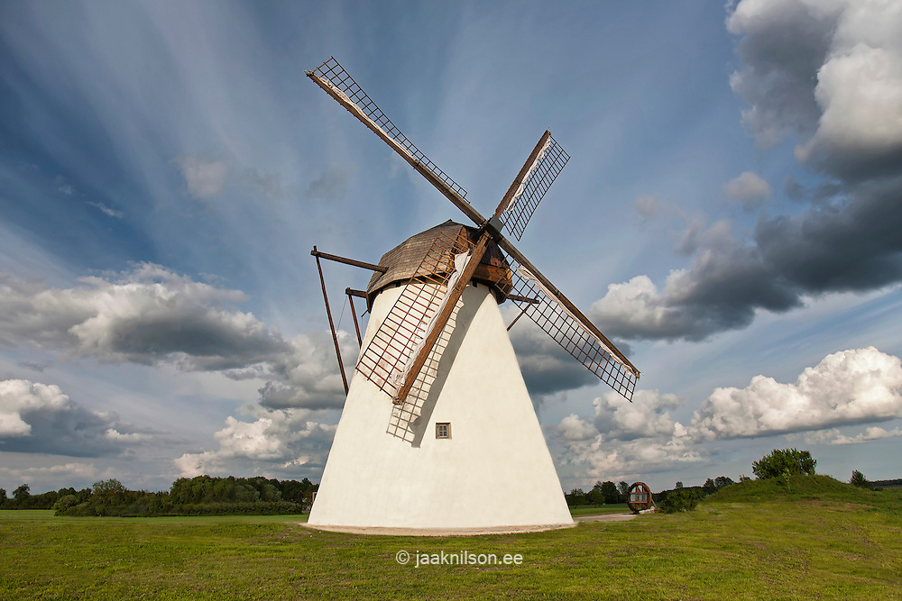 Windmill, Seidla Manor, Järva County, Estonia, Europe