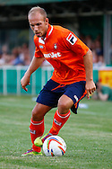 Jake Howells of Luton Town during the Pre Season Friendly match at Top Field, Hitchin<br /> Picture by David Horn/Focus Images Ltd +44 7545 970036<br /> 17/07/2014