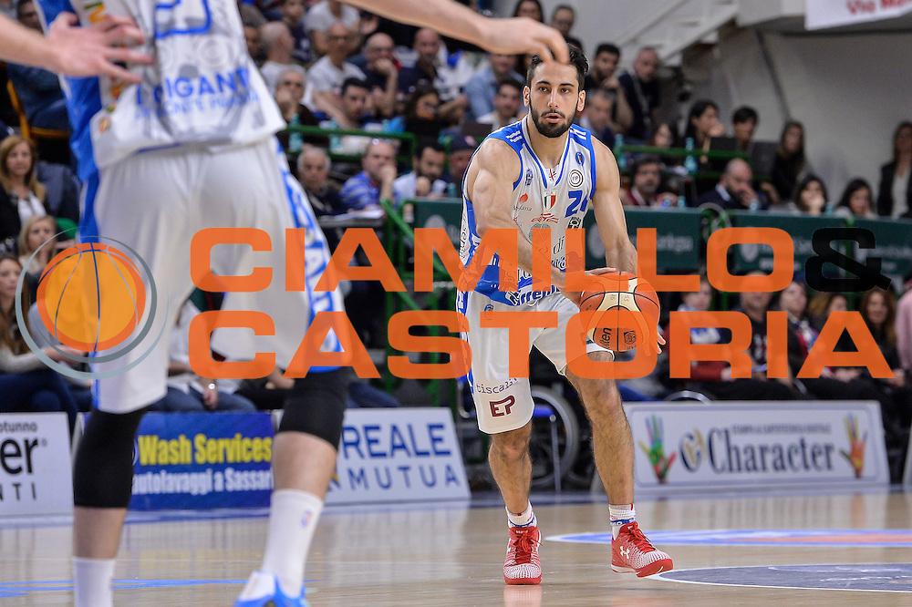 DESCRIZIONE : Beko Legabasket Serie A 2015- 2016 Dinamo Banco di Sardegna Sassari - Pasta Reggia Juve Caserta<br /> GIOCATORE : Rok Stipcevic<br /> CATEGORIA : Passaggio<br /> SQUADRA : Dinamo Banco di Sardegna Sassari<br /> EVENTO : Beko Legabasket Serie A 2015-2016<br /> GARA : Dinamo Banco di Sardegna Sassari - Pasta Reggia Juve Caserta<br /> DATA : 03/04/2016<br /> SPORT : Pallacanestro <br /> AUTORE : Agenzia Ciamillo-Castoria/L.Canu