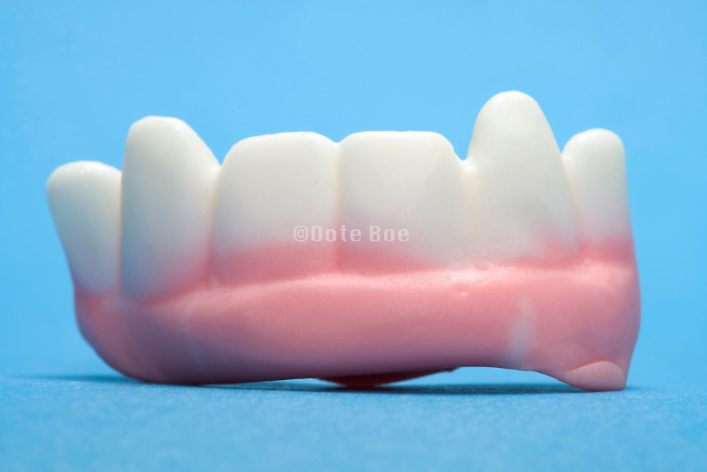 sweet candy in the form of teeth