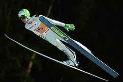 21.11.2014, Vogtland Arena, Klingenthal, GER, FIS Weltcup Ski Sprung, Klingenthal, Herren, HS 140, Qualifikation, im Bild Peter Prevc (SLO) // during the mens HS 140 qualification of FIS Ski jumping World Cup at the Vogtland Arena in Klingenthal, Germany on 2014/11/21. EXPA Pictures © 2014, PhotoCredit: EXPA/ Eibner-Pressefoto/ Harzer<br /> <br /> *****ATTENTION - OUT of GER*****