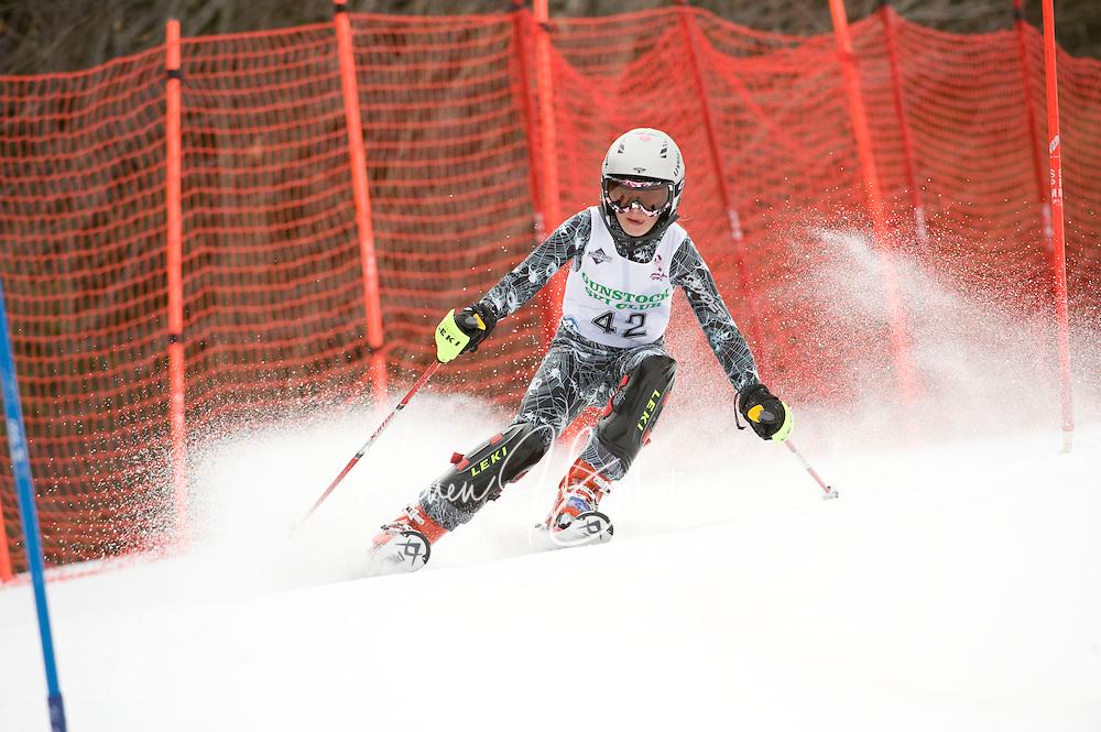 Tony Buttinger Memorial Slalom at Gunstock February 14, 2010...1st run J4