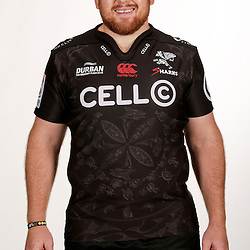 DURBAN, SOUTH AFRICA - JANUARY 25:  Lourens Adriaanse during Cell C Sharks photocall session at Growthpoint Kings Park on January 25, 2017 in Durban, South Africa. (Photo by Howard Cleland/Gallo Images)