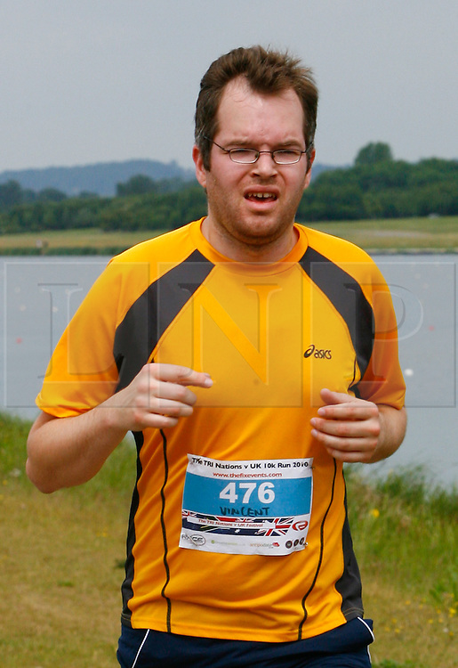 ©London News Pictures. 24/01/2011. Collect picture of Dutchman Vincent Tabak who is due to appear at Bristol Magistrates Court today (24/01/2011) charged with the murder of Joanna Yeates. Tabak is pictured here taking part in a 10km race in June 2010.  Photo credit should read: London News Pictures