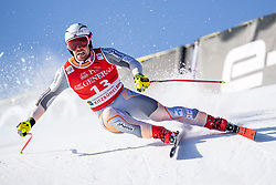 24.01.2020, Streif, Kitzbühel, AUT, FIS Weltcup Ski Alpin, SuperG, Herren, im Bild Aleksander Aamodt Kilde (NOR) // Aleksander Aamodt Kilde of Norway in action during his run for the men's SuperG of FIS Ski Alpine World Cup at the Streif in Kitzbühel, Austria on 2020/01/24. EXPA Pictures © 2020, PhotoCredit: EXPA/ Johann Groder