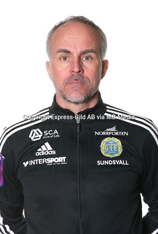 Joakim Svedberg<br /> Halvfigur<br /> @leverans<br /> Allsvenskan 2016<br /> Fotboll