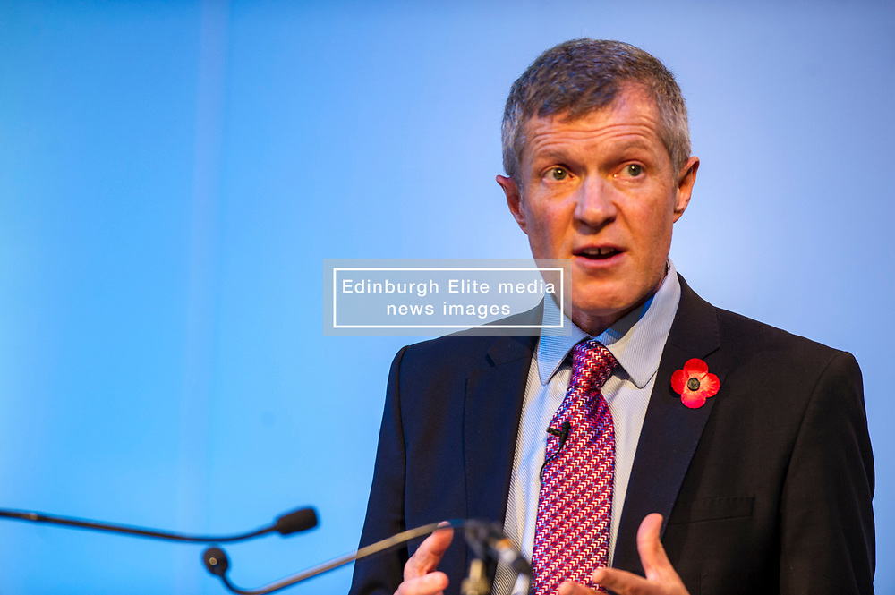 Pictured: Scottish Liberal Democrat leader Willie Rennie<br /> The Scottish Liberal Democrats stalwarts gathered today in Dunfermline for their Autumn Conference<br /> <br /> Ger Harley | EEm 11 November 2017