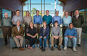Faculty members from the Ohio University's Institute of Nuclear & Particle Physics (INPP) meet in the Living Learning Center for a portrait on September 27, 2016.