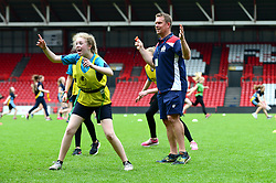 Eagle project at the Bristol Sport Community Foundation Celebration of Sport Week at Ashton Gate  - Mandatory by-line: Dougie Allward/JMP - 23/05/2017 - Celebration of sport week