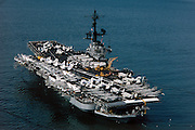 USS Coral Sea, CV-43, with late 70s air.wing aboard