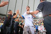 DESCRIZIONE : Cagliari Torneo Internazionale Sardegna a canestro Italia Inghilterra <br /> GIOCATORE : Valerio Amoroso <br /> SQUADRA : Nazionale Italia Uomini <br /> EVENTO : Raduno Collegiale Nazionale Maschile <br /> GARA : Italia Inghilterra Italy Great Britain <br /> DATA : 15/08/2008 <br /> CATEGORIA : Ritratto <br /> SPORT : Pallacanestro <br /> AUTORE : Agenzia Ciamillo-Castoria/S.Silvestri <br /> Galleria : Fip Nazionali 2008 <br /> Fotonotizia : Cagliari Torneo Internazionale Sardegna a canestro Italia Inghilterra <br /> Predefinita :
