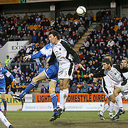 Martin Canning in action for Gretna in the Scottish First Division match against St Johnstone on 27th January 2007. McDiarmid Park Perth