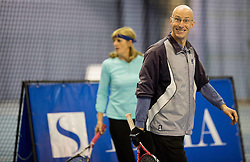 Robert Kukovica at  Istenic doubles Tournament and Slovenian Tennis personality of the year 2015 annual awards presented by Slovene Tennis Association TZS, on December 12, 2015 in Millenium Centre, BTC, Ljubljana, Slovenia. Photo by Vid Ponikvar / Sportida
