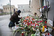 mourn Charlie Hebdo, Berlin 08.01.16