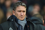 Nottingham Forest manager Philippe Montanier during the EFL Sky Bet Championship match between Nottingham Forest and Queens Park Rangers at the City Ground, Nottingham, England on 5 November 2016. Photo by Jon Hobley.