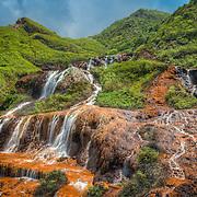 Jinguashi Waterfall, Taipei, Taiwan