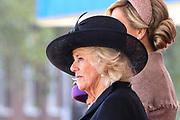 Staatsbezoek van Koning Willem Alexander en Koningin Máxima aan het Verenigd Koninkrijk<br /> <br /> Statevisit of King Willem Alexander and Queen Maxima to the United Kingdom<br /> <br /> Op de foto / On the photo: Camilla, hertogin van Cornwall / Camilla, Duchess of Cornwall