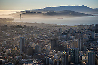 Downtown SF facing Northwest to Golden Gate Bridge II