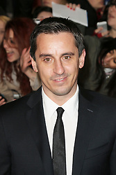 © Licensed to London News Pictures.  Gary Neville attends The Class of 92  World Film Premiere at The Odeon West End, Leicester Square, London on 01 December 2013. Photo credit: Richard Goldschmidt/LNP