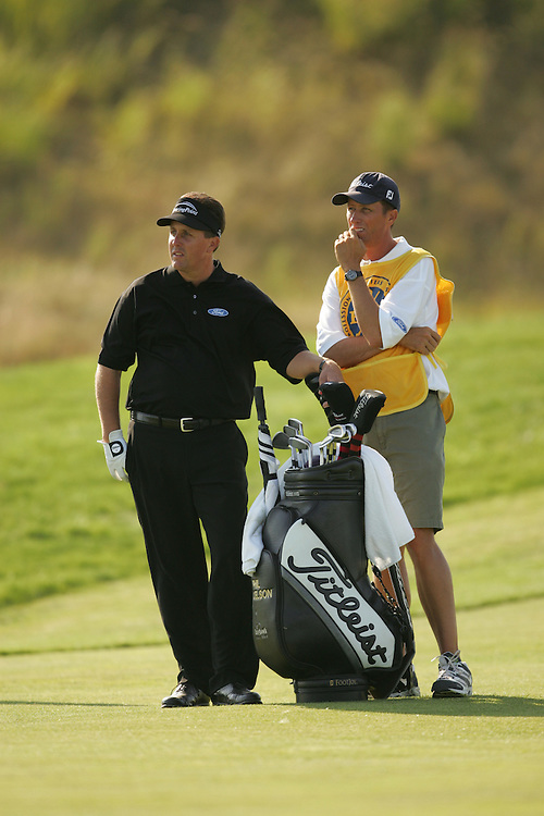 Phil Mickelson.Jim McKay (caddie)..2004 PGA Championship.Final Round.Whistling Straits.Haven, WI.Sunday, August 15 2004..photograph by Darren Carroll