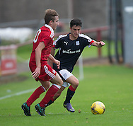 Dundee&rsquo;s Sam Dryden - Aberdeen v Dundee, SPFL Under 20s League at Glebe Park, Brechin<br /> <br />  - &copy; David Young - www.davidyoungphoto.co.uk - email: davidyoungphoto@gmail.com