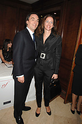 ALAN PARKER and JANE HARDMAN at a party to celebrate the 180th Anniversary of The Spectator magazine, held at the Hyatt Regency London - The Churchill, 30 Portman Square, London on 7th May 2008.<br />