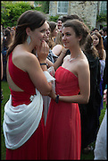 ELLIE IVES; ELIZA RUTHERFORD, The Tercentenary Ball, Worcester College. Oxford. 27 June 2014