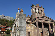 Church at Salarzon, near Potes in the south-eastern area of the Picos de Europa national park in northern Spain