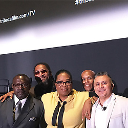 """Oprah Winfrey releases a photo on Instagram with the following caption: """"With Alejo, Moses, and Charles - 3 men who learned film-making in prison and will now produce their films with film students in NYC, thanks to Vee Bravo and the Tribeca Film Institute. Building bridges. #ReleasedOWN #TribecaTVFestival"""". Photo Credit: Instagram *** No USA Distribution *** For Editorial Use Only *** Not to be Published in Books or Photo Books ***  Please note: Fees charged by the agency are for the agency's services only, and do not, nor are they intended to, convey to the user any ownership of Copyright or License in the material. The agency does not claim any ownership including but not limited to Copyright or License in the attached material. By publishing this material you expressly agree to indemnify and to hold the agency and its directors, shareholders and employees harmless from any loss, claims, damages, demands, expenses (including legal fees), or any causes of action or allegation against the agency arising out of or connected in any way with publication of the material."""