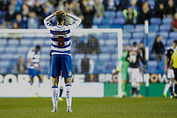 Reading's Danny Guthrie disappointed in tonights loss - Mandatory by-line: Jason Brown/JMP - Mobile 07966 386802 15/09/2015 - SPORT - FOOTBALL - Reading, Madejski Stadium - Reading v Derby County - Sky Bet Championship