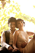 Farhan & Adhuna Akhtar for Harper's Bazaar. Farhan is a film director and actor, Adhuna runs and owns B:Blunt, a chain of hair salons in India.