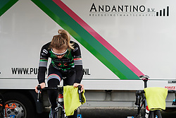 at Healthy Ageing Tour 2018 - Stage 1, an 8km individual time trial in Heerenveen on April 4, 2018. Photo by Sean Robinson/Velofocus.com
