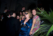 Francesca Bortolotto Possati, Alessandro and Olimpia host Carnevale 2009. Venetian Red Passion. Palazzo Mocenigo. Venice. February 14 2009.  *** Local Caption *** -DO NOT ARCHIVE -Copyright Photograph by Dafydd Jones. 248 Clapham Rd. London SW9 0PZ. Tel 0207 820 0771. www.dafjones.com<br /> Francesca Bortolotto Possati, Alessandro and Olimpia host Carnevale 2009. Venetian Red Passion. Palazzo Mocenigo. Venice. February 14 2009.