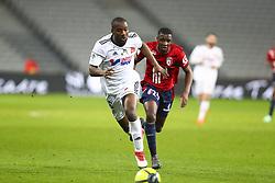 April 1, 2018 - Villeneuve D Ascq, France - Guessouma Fofana ( Amiens ) vs Fode Ballo Toure  (Credit Image: © Panoramic via ZUMA Press)