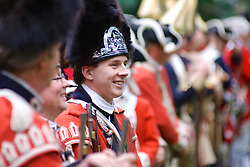 Revolutionary Germantown re-enacts the October 4th 1777 battle on the grounds of Cliveden between the American and British. (Bas Slabbers/for NewsWorks)