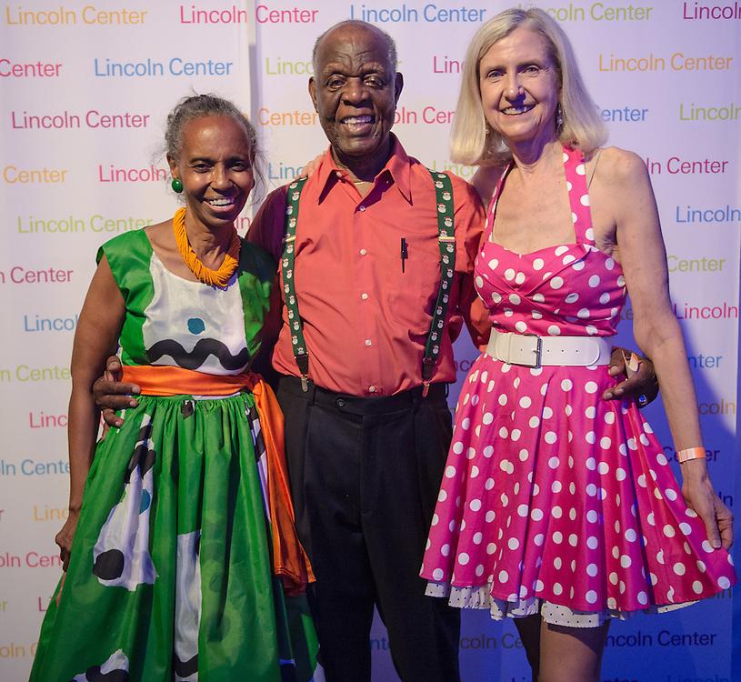 Dance Contest participants and judges