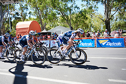 Tayler Wiles (USA) and Ruth Winder (USA) on the final lap at Santos Women's Tour Down Under 2019 - Stage 4, a 42.5 km road race in Adelaide, Australia on January 13, 2019. Photo by Sean Robinson/velofocus.com