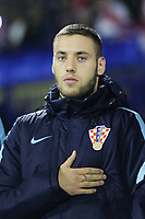 ZAGREB, CROATIA - NOVEMBER 09: Portrait of Nikola Vlasic of Croatia during the FIFA 2018 World Cup Qualifier play-off first leg match between Croatia and Greece at Maksimir Stadium on November 9, 2017 in Zagreb, Croatia. (Luka Stanzl/PIXSELL)