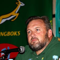 22,10,2019  South Africa Springbok media conference