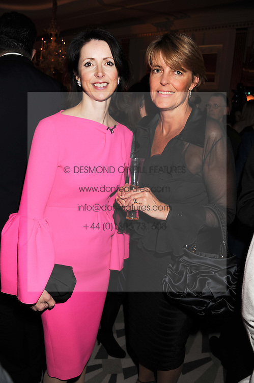 Left to right, HELENA MORRISSEY Newton Investment Management chief and CHRISTINE HODGSON Chairman of Capgemini UK PLC at the annual Veuve Clicquot Business Woman of the Year Award this year celebrating it's 40th year, held at Claridge's, Brook Street, London on 18th April 2012.