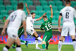 Asmir Suljic of NK Olimpija Ljubljana during 1st Leg football match between NK Olimpija Ljubljana and FC Crausaders in 2nd Qualifying Round of UEFA Europa League 2018/19, on July 26, 2018 in SRC Stozice, Ljubljana, Slovenia. Photo by Urban Urbanc / Sportida