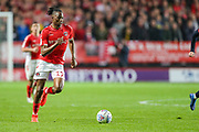 Charlton Athletic midfielder Joe Aribo (17) during the EFL Sky Bet League 1 second leg Play-Off match between Charlton Athletic and Doncaster Rovers at The Valley, London, England on 17 May 2019.