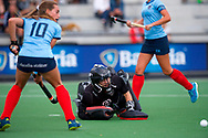 EINDHOVEN - Oranje Rood - Nijmegen.<br /> Hoofdklasse dames<br /> Foto: Saskia van Duivenboden.<br /> WORLDSPORTPICS COPYRIGHT FRANK UIJLENBROEK