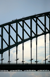 AUSTRALIA NEW SOUTH WALES SYDNEY 26FEB08 - View of Sydney Harbour Bridge in Sydney, Australia..jre/Photo by Jiri Rezac..© Jiri Rezac 2008..Contact: +44 (0) 7050 110 417.Mobile:  +44 (0) 7801 337 683.Office:  +44 (0) 20 8968 9635..Email:   jiri@jirirezac.com..Web:    www.jirirezac.com..© All images Jiri Rezac 2008 - All rights reserved.