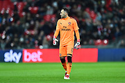 David Ospina (13) of Arsenal during the EFL Cup Final match between Arsenal and Manchester City at Wembley Stadium, London, England on 25 February 2018. Picture by Graham Hunt.