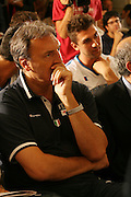 Milano, 18/07/2007<br /> Basket, Nazionale Italiana Maschile Senior<br /> Media Day Conferenza Stampa Hotel Visconti<br /> Nella foto: dino meneghin<br /> Foto Ciamillo