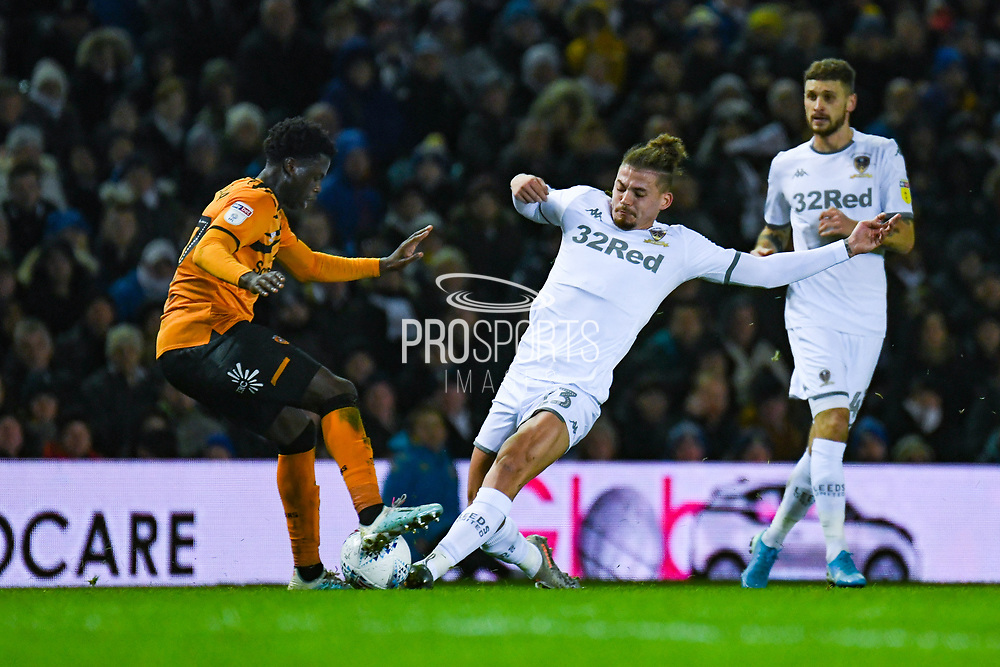 Leeds United midfielder Kalvin Phillips (23) during the EFL Sky Bet Championship match between Leeds United and Hull City at Elland Road, Leeds, England on 10 December 2019.