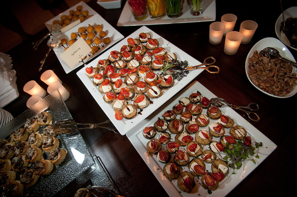 The Four Seasons Residences Austin hosted a party Friday night for current, future and prospective residents. Guests were treated to a wide assortment of delicious and colorful appetizers.