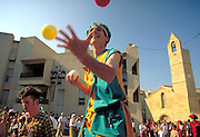 Juggler at Renaissance Fair  Salon de Provence, France