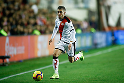 November 3, 2018 - Madrid, MADRID, SPAIN - Embarba of Rayo during the Spanish Championship, La Liga, football match between Rayo Vallecano and FC Barcelona on November 03th, 2018 at Estadio de Vallecas in Madrid, Spain. (Credit Image: © AFP7 via ZUMA Wire)